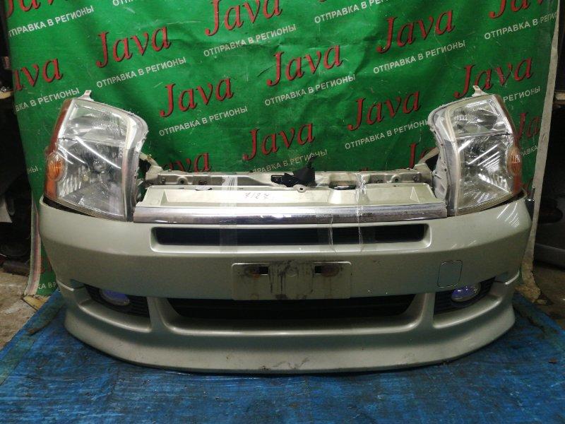 Ноускат Honda Mobilio GB1 L15A 2002 передний (б/у) КСЕНОН. ТУМАНКИ. ГУБА(ДЕФЕКТ)