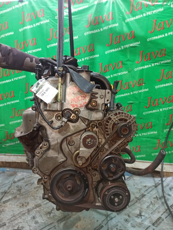 Двигатель Nissan Serena C25 MR20DE 2005 (б/у) ПРОБЕГ-72000КМ. 2WD. БЕЗ EGR. КОСА+КОМП.  ПОД А/Т. СТАРТЕР В КОМПЛЕКТЕ.