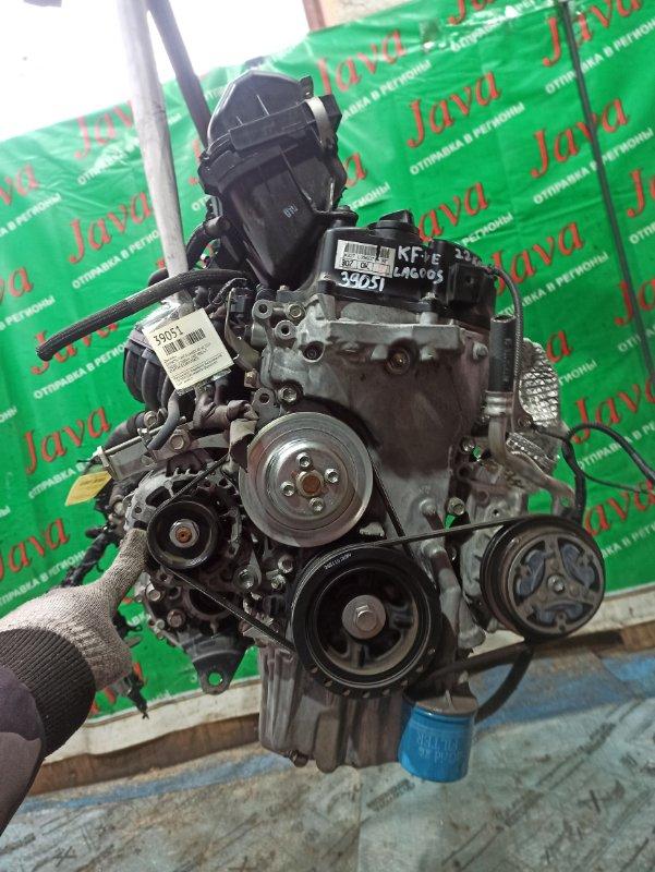 Двигатель Daihatsu Tanto LA600S KF-VE 2015 (б/у) ПРОБЕГ-22000КМ. 2WD. КОСА+КОМП. ЭЛЕКТРО ЗАСЛОНКА.  ПОД А/Т. СТАРТЕР В КОМПЛЕКТЕ.