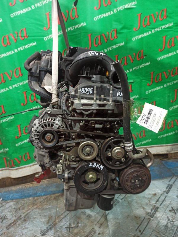 Двигатель Nissan Moco MG33S R06A 2011 (б/у) ПРОБЕГ-28000КМ. 2WD. +КОМП. ПОД А/Т. СТАРТЕР В КОМПЛЕКТЕ.