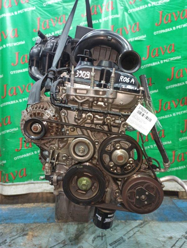 Двигатель Nissan Moco MG33S R06A 2011 (б/у) ПРОБЕГ-25000КМ. 2WD. +КОМП. ПОД А/Т. СТАРТЕР В КОМПЛЕКТЕ.