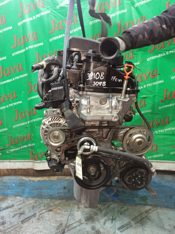 Двигатель Honda N-Box JF3 S07B 2017 (б/у) ПРОБЕГ-17000КМ. 2WD. КОСА+КОМП. ПОД А/Т. СТАРТЕР В КОМПЛЕКТЕ.