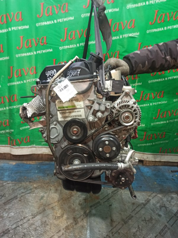 Двигатель Mitsubishi Colt Z21A 4A90 2005 (б/у) ПРОБЕГ-33000КМ. 2WD. КОСА+КОМП. ПОД А/Т. СТАРТЕР В КОМПЛЕКТЕ.