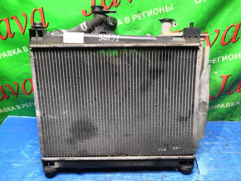 Радиатор основной Toyota Funcargo NCP20 2NZ-FE 2003 передний (б/у) A/T