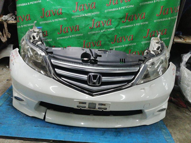 Ноускат Honda Elysion RR3 J30A 2008 передний (б/у) 2-Я МОД. КСЕНОН. ТУМАНКИ. ДЕФЕКТ БАМПЕРА С НИЗУ.
