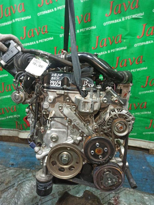 Двигатель Nissan Dayz B21W 3B20-T 2016 (б/у) ПРОБЕГ-15000КМ. 2WD. КОСА+КОМП. ПОД А/Т. СТАРТЕР В КОМПЛЕКТЕ.