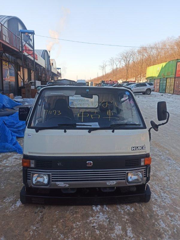 Кабина Toyota Hiace YH80 1Y 1986 (б/у) НЕ ОТКИДНАЯ 2WD. 12V.