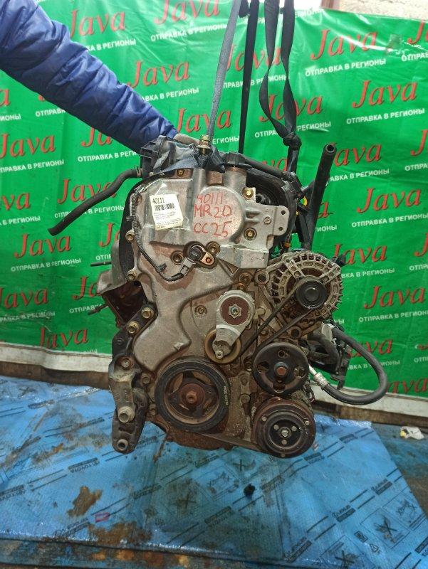 Двигатель Nissan Serena CC25 MR20DE 2006 (б/у) ПРОБЕГ-61000КМ. 2WD. EGR. КОСА+КОМП. ПОД А/Т. СТАРТЕР В КОМПЛЕКТЕ.