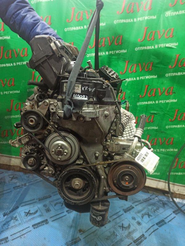 Двигатель Daihatsu Esse L235S KF-VE 2010 (б/у) ПРОБЕГ-58000КМ. 2WD. КОСА+КОМП. ПОД А/Т. СТАРТЕР В КОМПЛЕКТЕ.