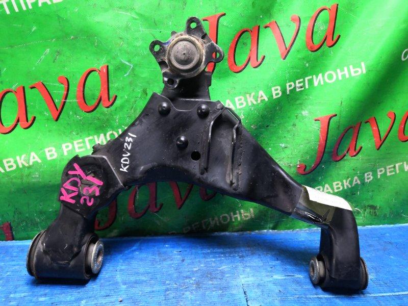 Рычаг Toyota Toyoace KDY231 1KD-FTV 2008 передний левый нижний (б/у) 2WD. +ШАРОВАЯ