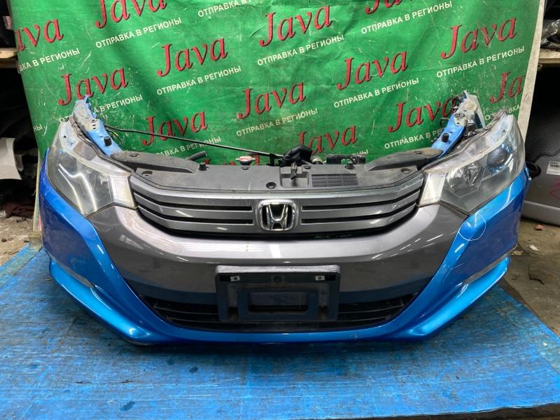 Ноускат Honda Insight ZE2 LDA 2009 передний (б/у) ФАРЫ ГАЛОГЕН. ПОТЕРТОСТИ НА БАМПЕРЕ.