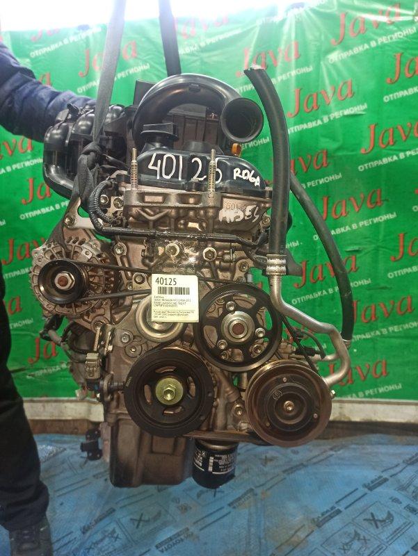 Двигатель Suzuki Mr Wagon MF33S R06A 2013 (б/у) ПРОБЕГ-26000КМ. 2WD. +КОМП.  ПОД А/Т. СТАРТЕР В КОМПЛЕКТЕ.