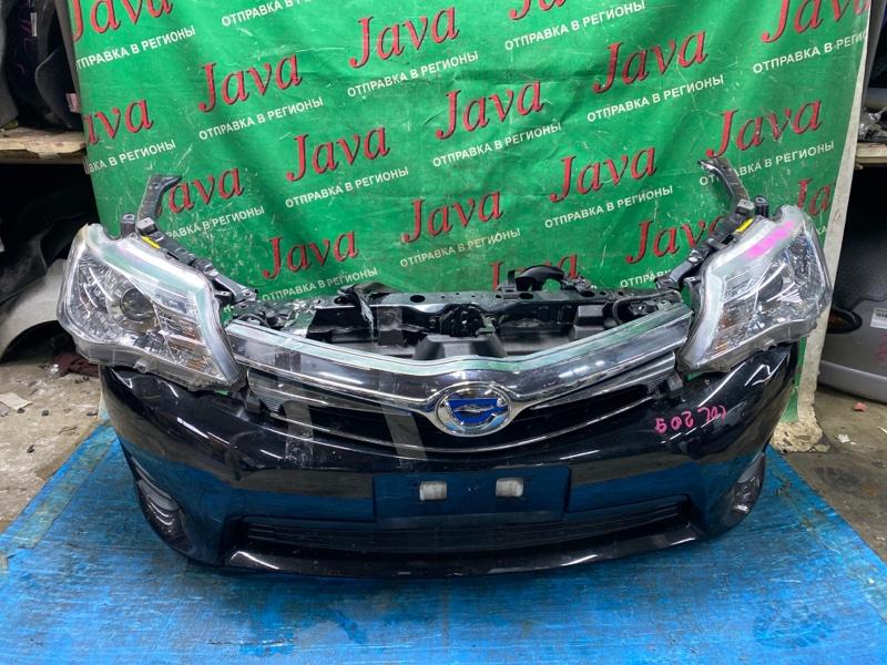 Ноускат Toyota Corolla Fielder NKE165 1NZ-FXE 2013 передний (б/у) КСЕНОН. ЗАГЛУШКИ.