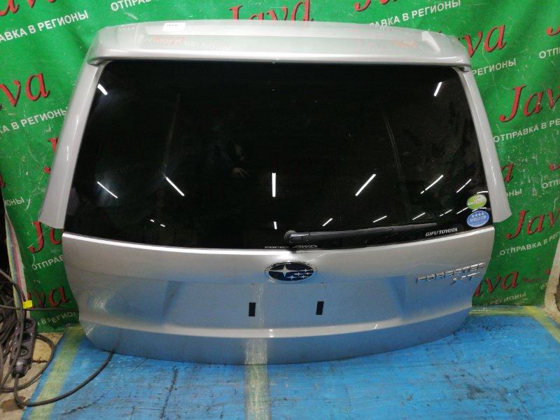 Дверь задняя Subaru Forester SH5 EJ205 2010 задняя (б/у) ПОТЕРТОСТИ. МЕТЛА. КАМЕРА. СПОЙЛЕР. ВМЯТИНА