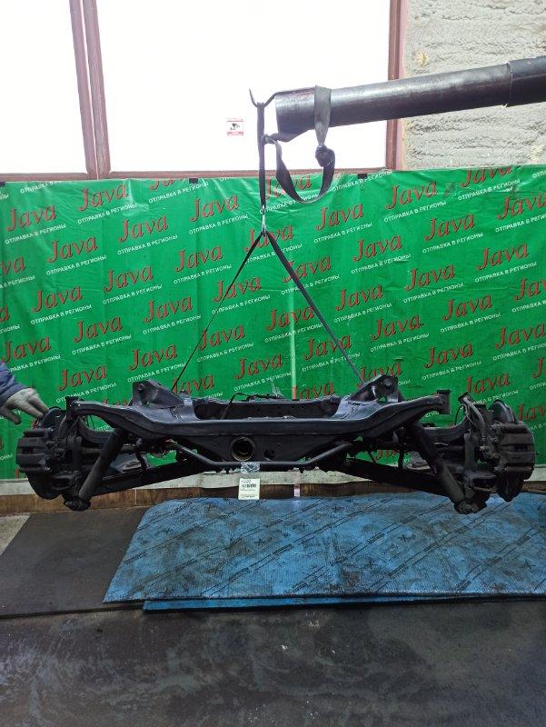Балка Nissan X-Trail NT31 QR25DE 2011 задняя (б/у) 4WD. ABS. В СБОРЕ