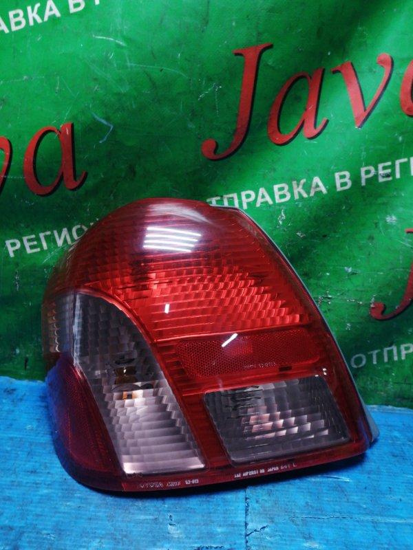 Стоп-сигнал Toyota Platz NCP12 1NZ-FE 2000 задний левый (б/у) 52-013