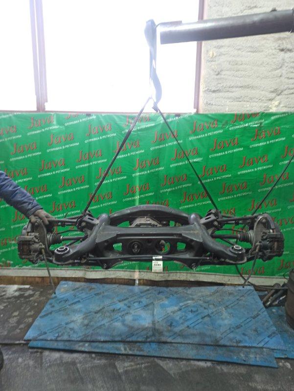 Балка Toyota Mark X GRX120 4GR-FSE 2007 задняя (б/у) 2WD. ABS. ПАРА 41:10=4.100
