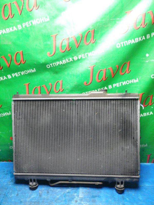 Радиатор основной Toyota Gaia ACM10 1AZ-FSE 2002 передний (б/у) A/T ЛОМ ВЕРХНЕГО ПАТРУБКА