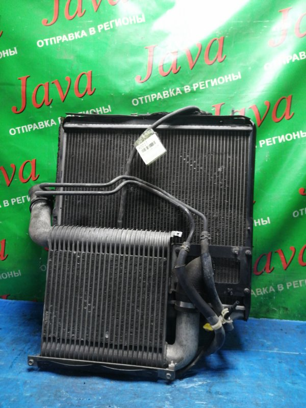 Радиатор основной Toyota Toyoace KDY231 1KD-FTV 2008 передний (б/у) A/T. В СБОРЕ