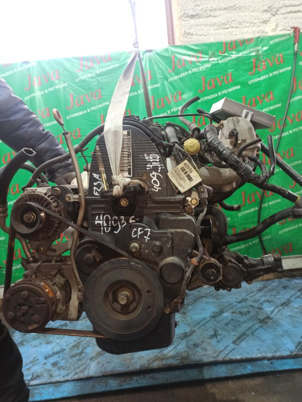 Двигатель Honda Accord CF7 F23A 2001 (б/у) ПРОБЕГ-68000КМ. 4WD. +КОМП. ПОД А/Т. СТАРТЕР В КОМПЛЕКТЕ.