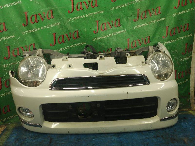 Ноускат Daihatsu Move Latte L550S EF-VE 2008 передний (б/у) ТУМАНКИ. ПОД А/Т.
