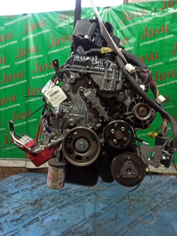Двигатель Nissan Dayz B21W 3B20 2015 (б/у) ПРОБЕГ-37000КМ. 2WD. КОСА+КОМП. ПОД А/Т. СТАРТЕР В КОМПЛЕКТЕ.