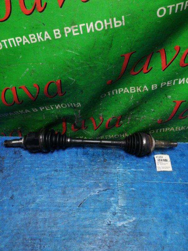 Привод Toyota Aqua NHP10 1NZ-FXE 2013 передний левый (б/у) 2WD. ABS. Порван внутренний пыльник