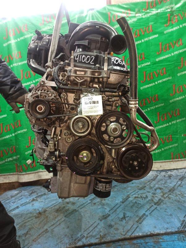 Двигатель Suzuki Wagon R MH34S R06A 2013 (б/у) ПРОБЕГ-42000КМ. 2WD. +КОМП. ПОД А/Т. СТАРТЕР В КОМПЛЕКТЕ.