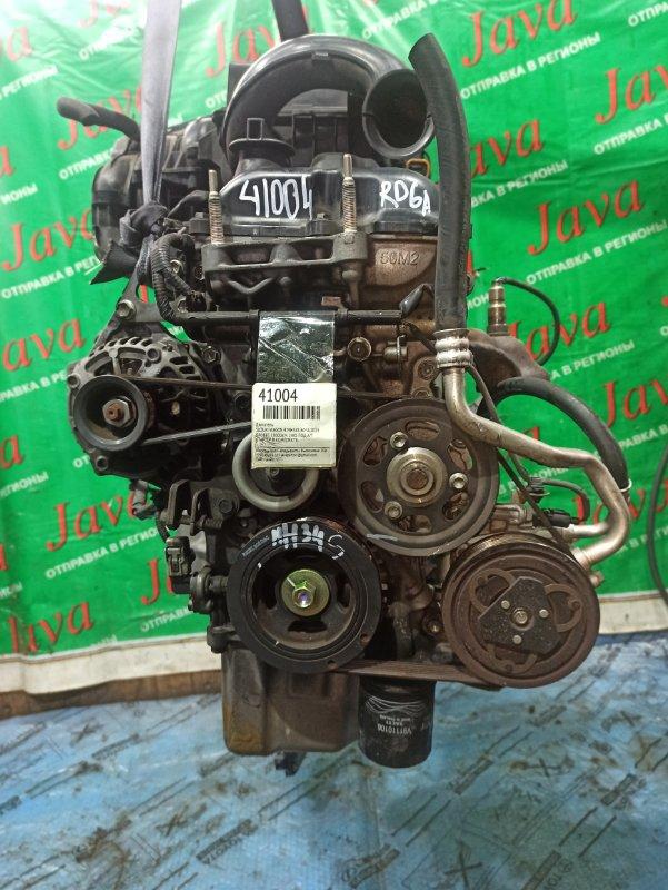 Двигатель Suzuki Wagon R MH34S R06A 2013 (б/у) ПРОБЕГ-53000КМ. 2WD. +КОМП.  ПОД А/Т. СТАРТЕР В КОМПЛЕКТЕ.