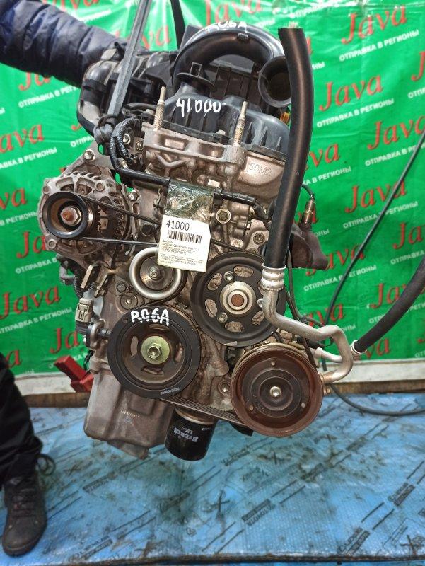 Двигатель Suzuki Wagon R MH34S R06A 2014 (б/у) ПРОБЕГ-51000КМ. 2WD. +КОМП. ПОД А/Т. СТАРТЕР В КОМПЛЕКТЕ.