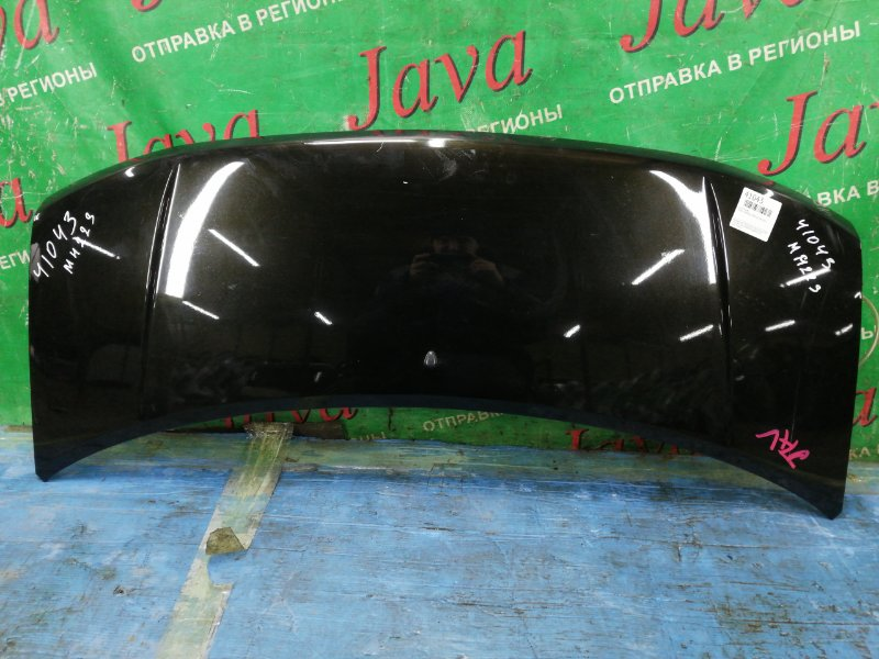 Капот Suzuki Wagon R MH22S K6A 2007 передний (б/у) ПОТЕРТОСТИ. STINGRAY