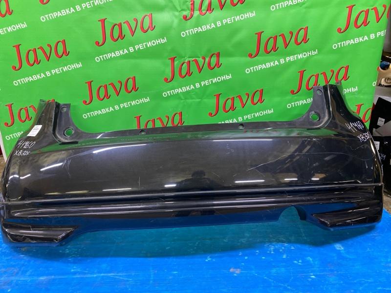 Бампер Suzuki Splash XB32S K12B 2010 задний (б/у) ПОТЕРТОСТИ. ГУБА. TSMEXB32S00350878