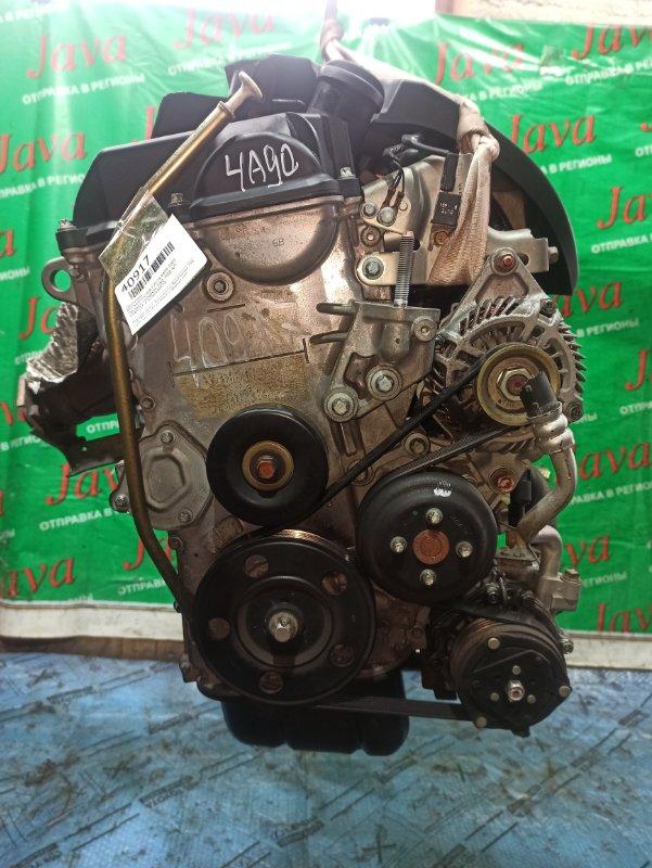 Двигатель Mitsubishi Colt Z21A 4A90 2005 (б/у) ПРОБЕГ-54000КМ. 2WD. +КОМП. ПОД А/Т. СТАРТЕР В КОМПЛЕКТЕ.
