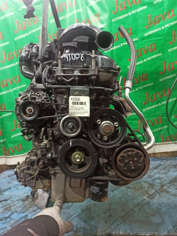 Двигатель Nissan Moco MG33S R06A 2014 (б/у) ПРОБЕГ-29000КМ. 4WD. +КОМП. ПОД А/Т. СТАРТЕР В КОМПЛЕКТЕ.
