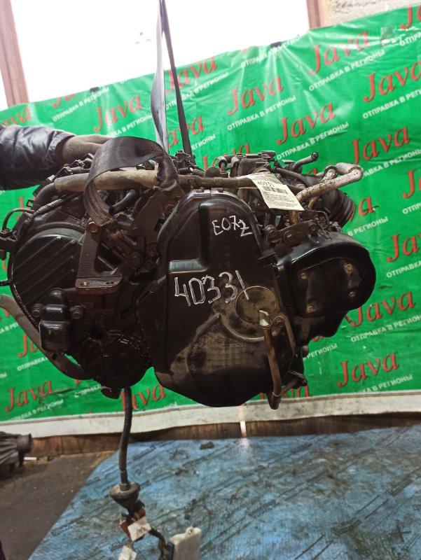 Двигатель Honda Vamos HM2 E07Z 1999 (б/у) ПРОБЕГ-59000КМ. 4WD. ПОД М/Т. СТАРТЕР В КОМПЛЕКТЕ. ПРОДАЖА БЕЗ МАХОВИКА.