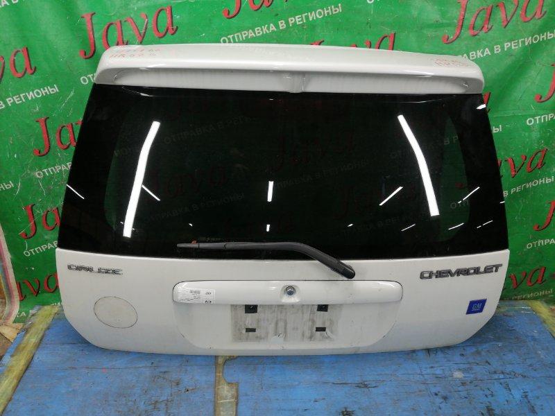 Дверь задняя Chevrolet Cruze HR52S M13A 2005 задняя (б/у) ПОТЕРТОСТИ. СПОЙЛЕР. МЕТЛА.