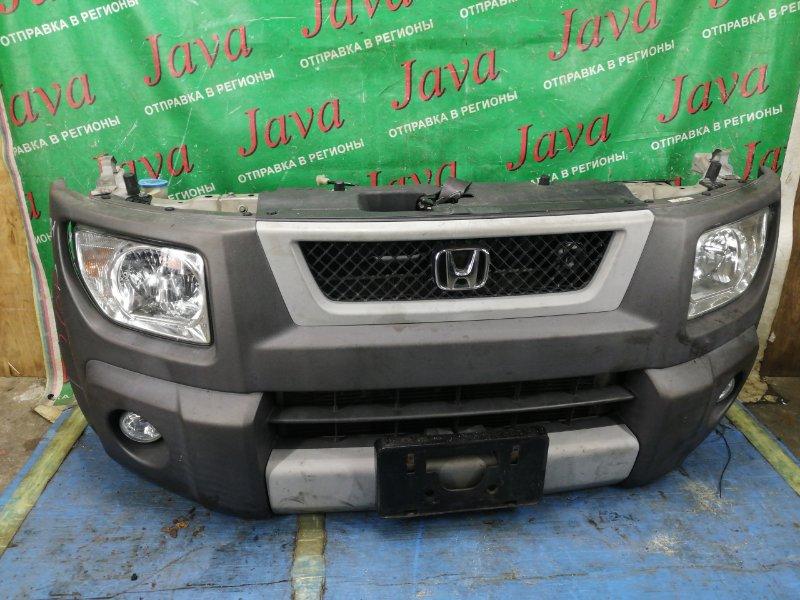 Ноускат Honda Element YH2 K24A 2003 передний (б/у) КСЕНОН. ТУМАНКИ.