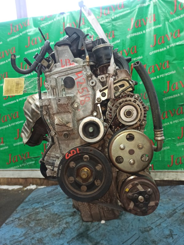 Двигатель Honda Fit GD1 L13A 2006 (б/у) ПРОБЕГ-51000КМ. 2WD. 2-Я МОД. КОСА+КОМП.   ПОД А/Т. СТАРТЕР В КОМПЛЕКТЕ.