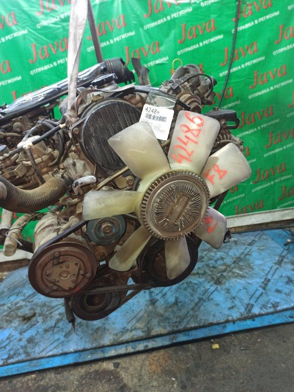 Двигатель Mazda Bongo SE88TN F8 1997 (б/у) ПРОБЕГ-77000КМ. 2WD. ПОД М/Т. КАРБЮРАТОРНЫЙ. СТАРТЕР В КОМПЛЕКТЕ. ПРОДАЖА БЕЗ МАХОВИКА. ЛОМ КРЫШКИ ТРАМБЛЕРА.