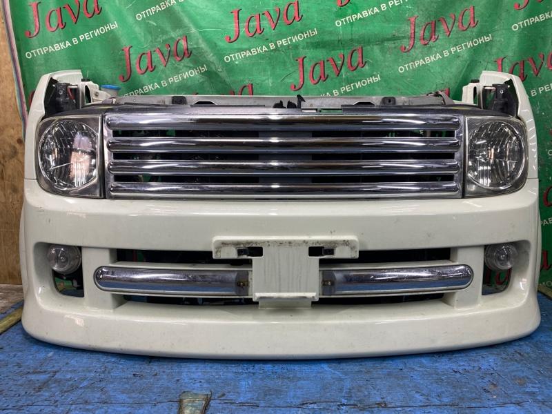 Ноускат Nissan Cube BZ11 CR14DE 2004 передний (б/у) ТУМАНКИ. КСЕНОН. ПОД А/Т.