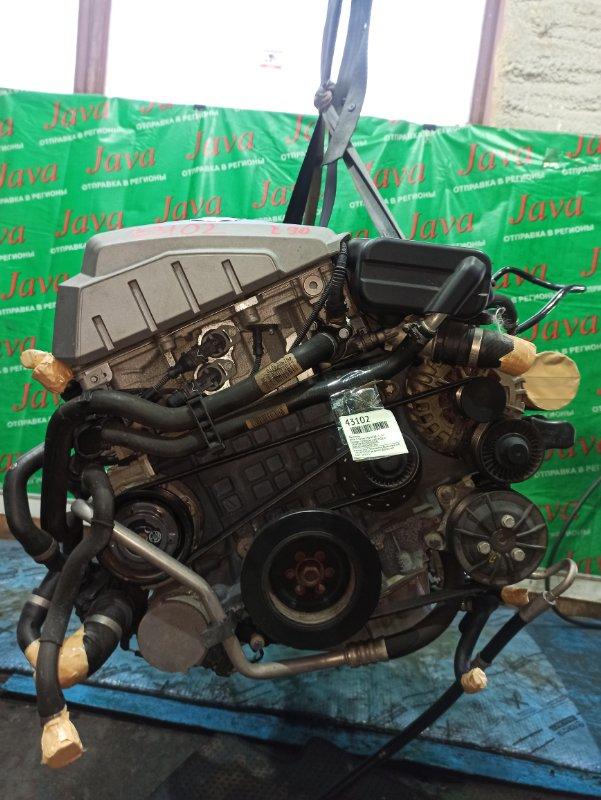 Двигатель Bmw 3-Series E90 N52B25 2006 (б/у) ПРОБЕГ-52000КМ. 2WD. КОСА+КОМП. ПОД А/Т. СТАРТЕР В КОМПЛЕКТЕ. WBAVB56000ND27361