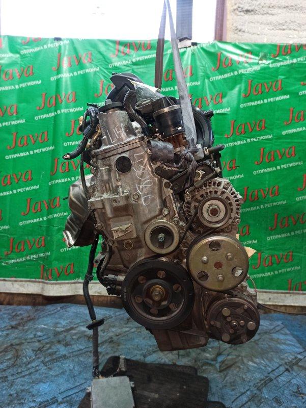 Двигатель Honda Airwave GJ1 L15A 2005 (б/у) ПРОБЕГ-62000КМ. 2WD. КОСА+КОМП. ПОД А/Т. СТАРТЕР В КОМПЛЕКТЕ.