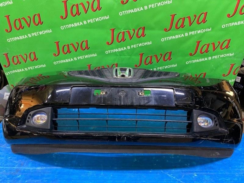Бампер Honda Fit GE6 L13A 2007 передний (б/у) 1-я МОДЕЛЬ. ПОТЕРТОСТИ. ТУМАНКИ
