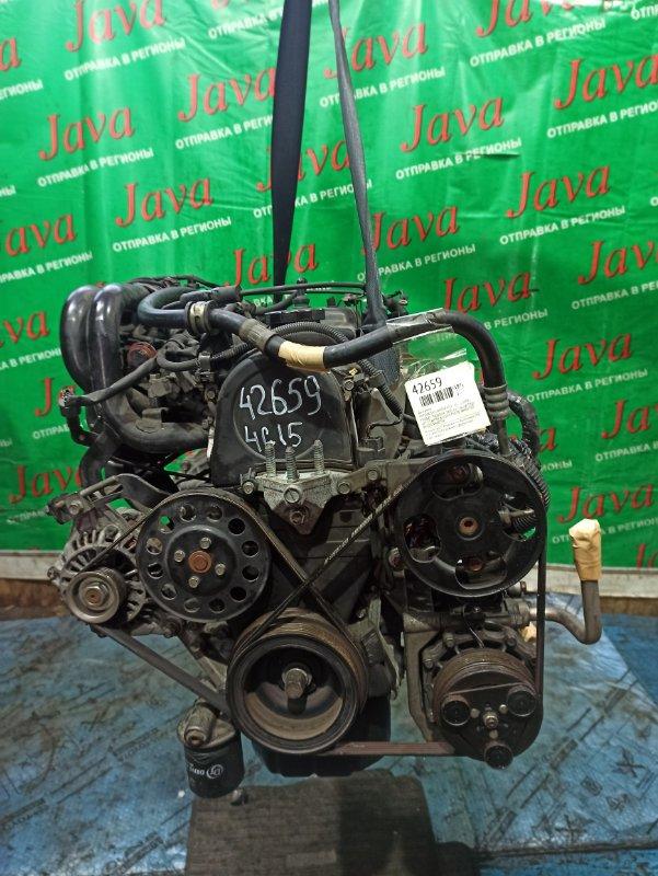 Двигатель Mitsubishi Lancer CS2V 4G15 2008 (б/у) ПРОБЕГ-74000КМ. 2WD. КАТУШКИ. КОСА+КОМП. ПОД А/Т. СТАРТЕР В КОМПЛЕКТЕ. ИМЕЕТСЯ ВИДЕО РАБОТЫ.
