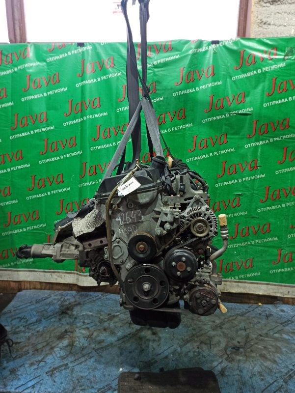 Двигатель Mitsubishi Colt Z22A 4A90 2005 (б/у) ПРОБЕГ-53000КМ. 4WD. КОСА+КОМП. ПОД А/Т. СТАРТЕР В КОМПЛЕКТЕ.