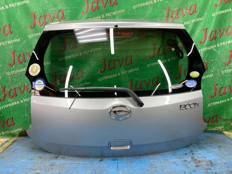 Дверь задняя Daihatsu Boon M601S 1NR-FE 2010 задняя (б/у) ПОТЕРТОСТИ. МЕТЛА. ТЫЧКА.