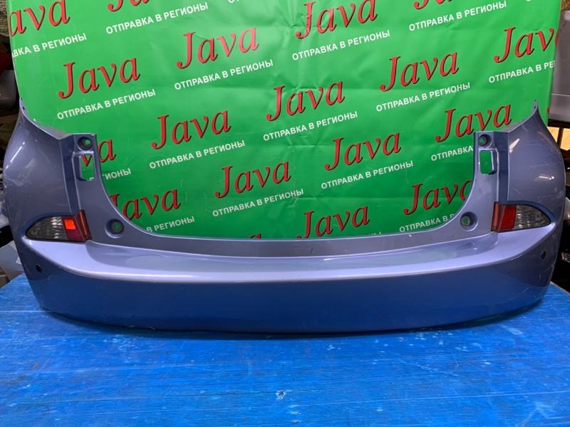 Бампер Toyota Ractis NCP125 1NZ-FE 2013 задний (б/у) ПОТЕРТОСТИ. ПОДОРВАН