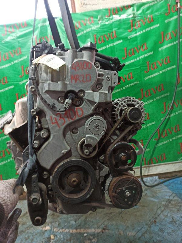 Двигатель Nissan Serena C25 MR20DE 2007 (б/у) ПРОБЕГ-50000КМ. 2WD. КОСА+КОМП. EGR. ПОД А/Т. СТАРТЕР В КОМПЛЕКТЕ.