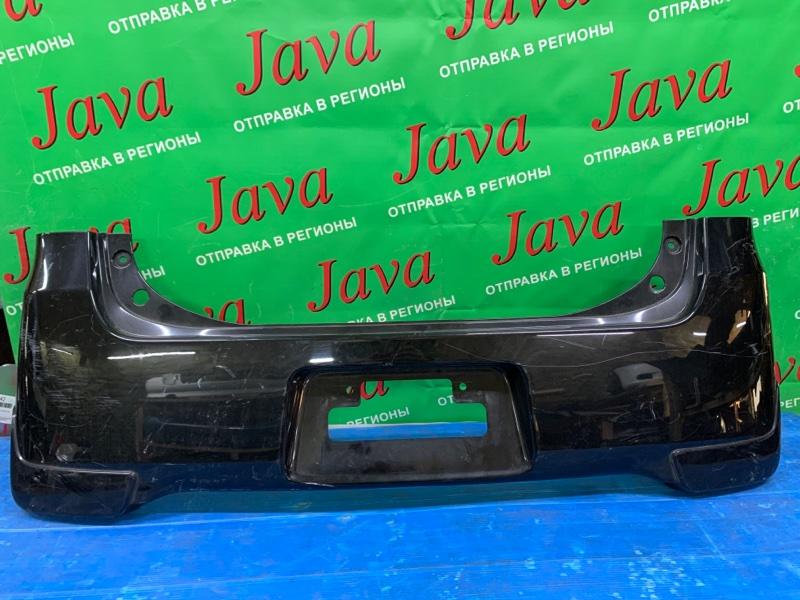 Бампер Daihatsu Tanto L455S KF-VE 2012 задний (б/у) ПОТЕРТОСТИ. +НАКЛАДКИ.