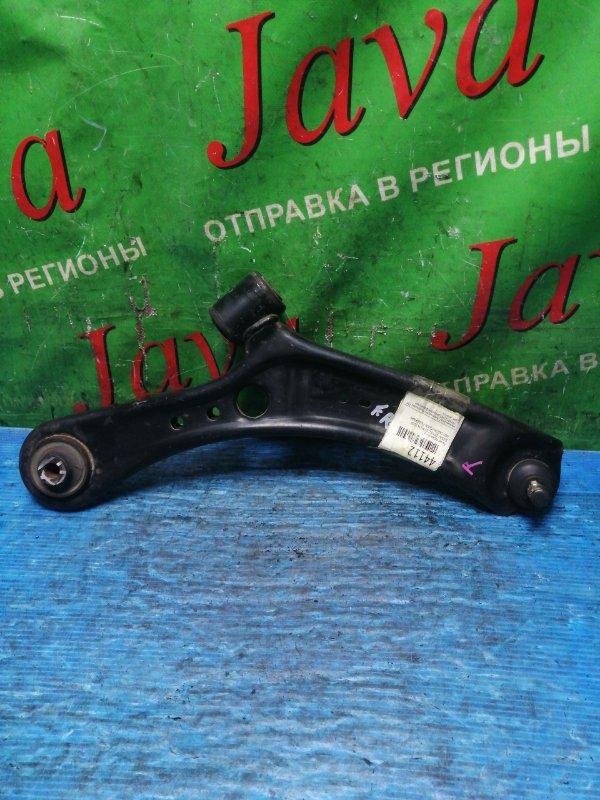 Рычаг Suzuki Sx4 YA11S M15A 2008 передний правый нижний (б/у) 2WD. САЙЛЕНТБЛОК ПОДОРВАН